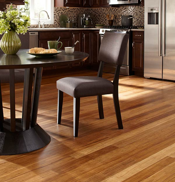 how to clean carbonized bamboo flooring